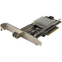 StarTech 1-Port 10G SFP+ Fiber Optic Network Card - PCIe - Intel Chip - MM