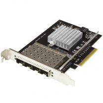 StarTech Quad Port SFP+ Server Network Card - PCIe - Intel XL710 Chip