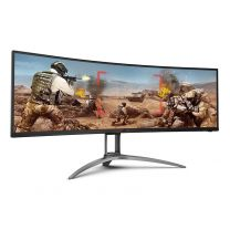 """AOC Super Ultra-Wide 49"""" 5K 120Hz 1ms HAS FreeSync Curved Monitor"""