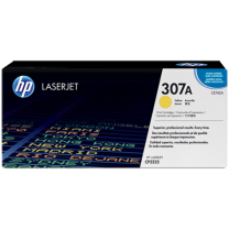 HP 307A Yellow Toner 7,300 Page Yield