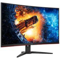 "AOC CQ32G2E 31.5"" Curved QHD 144Hz 1ms HDR Gaming Monitor"