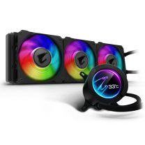 Gigabyte AORUS 360 ARGB 120mm LCD Display Liquid CPU Cooler