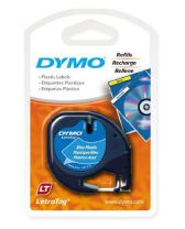DYMO Printer Label Black, Blue