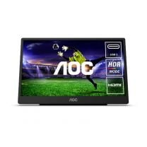 """AOC 16T2 15.6"""" FHD IPS Touch USB-C Portable Monitor"""