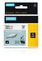 Dymo Industrial Heat-Shrink Tube Labels 9mm White