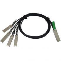 Cisco QSFP - 4xSFP10G 3m InfiniBand Cable QSFP+ 4xSFP+ Black