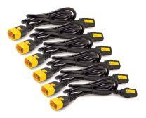 APC AP8702S-WW Power Cable Black 0.61 m C14 coupler C13 coupler