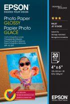 "Epson Glossy 6x4"" Photo Paper (20 Sheet)"