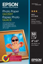 Epson Photo Paper Glossy - 10x15cm 50 sheets