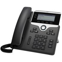Cisco 7821 IP Phone Wired Handset 2lines - Black