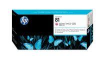 HP 81 Light Magenta DesignJet Dye Printhead And Cleaner