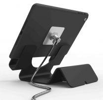 Compulocks Universal Tablet Holder with Keyed Cable Lock - Black