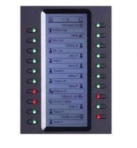 Grandstream Networks IP add-on Module Black 20 buttons