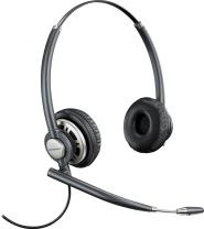 Plantronics EncorePro HW720 Over The Head Noise Canceling Quick Disconnect Corded Headset Head-band Black