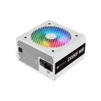 Corsair CX 550W RGB 80+ Bronze Fully Modular Power Supply - White