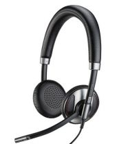 Plantronics C725 Headset Head-band Wired Black USB Type-A