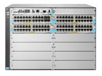 HP Enterprise 5412R 92GT PoE+ & 4-Port SFP+ (No PSU) v3 zl2 Managed L3 Gigabit Ethernet (10/100/1000) Grey 7U Power over Ethernet (PoE) Switch