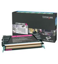 Lexmark Toner Cartridge Original 10000 Pages Magenta