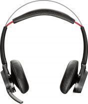 Plantronics Voyager Focus UC B825 Wireless Headset Head-band Black Bluetooth
