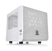 Thermaltake Core V1 Snow Edition Cube mini-ITX Computer Case - White