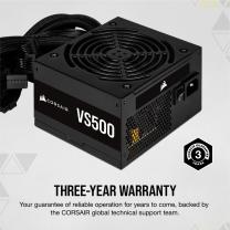 Corsair VS Series VS500 500W 80+ Non-Modular ATX PSU