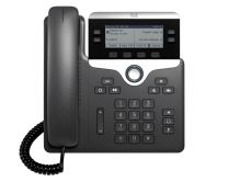 Cisco 7821 IP Phone 3rd Party Call Control Wired Handset 2Lines - Black
