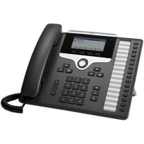 Cisco 7861 IP Phone Black, Silver Wired Handset 16 lines LCD