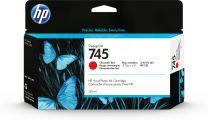 HP 745 130-ml DesignJet Chromatic Red Ink Cartridge Original Standard Yield