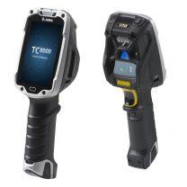 "Zebra TC8000 4"" LCD Touchscreen Handheld Mobile Computer Black, Silver"