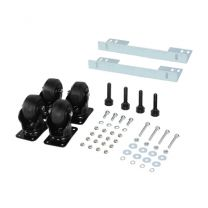 "CyberPower CRA60003 Rack Accessory Castor Wheels 3"" Heavy Duty Caster Acc Kit"