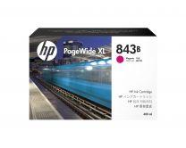 HP 843B Ink Cartridge Original High (XL) Yield - Magenta