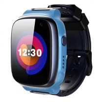 360 Kids Smart Watch E1 (4G/LTE. Patch Trace, Video call, 1 Click SOS) - Blue