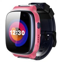 360 Kids Smart Watch E1 (4G/LTE. Patch Trace, Video call, 1 Click SOS) - Pink