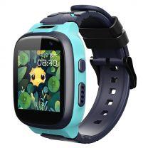 360 Kids Smart Watch E2 (4G/LTE Wifi, IPX8 Waterproof, Dual Cameras, GPS) - Blue
