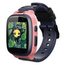 360 Kids Smart Watch E2 (4G/LTE Wifi, IPX8 Waterproof, Dual Cameras, GPS) - Pink