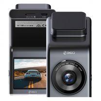 360 DashCam G300H FHD Car Camera Video Recorder - Black