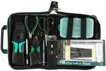 ProsKit LOGON LFT001 Fiber Optic Cable Preparation Tool Kit Black