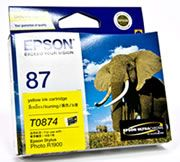Epson 87 Yellow Ink Cartridge for R1900