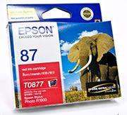 Epson 87 UltraChrome Hi-Gloss2 - Red Ink Cartridge