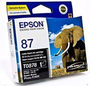 Epson 87 UltraChrome Hi-Gloss2-Matte Black Ink