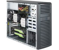 SuperMicro SuperWorkstation 7039A-i Intel C621 LGA 3647 Black