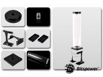 Bitspower Dual/Single D5 Top Upgrade Kit 250 (Black POM Cap)
