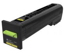 Lexmark Extra High Yield Toner Cartridge Original 22000 Pages Yellow