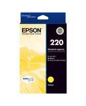 Epson 220 STD Cpcty Durabrite Ultra Ink Yellow