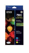 Epson 786XL DURABrite Ultra -3 Colour Value Pack