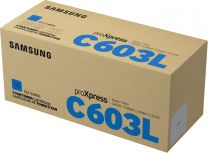 Samsung CLT-C603L Original Cyan Toner Cartridge