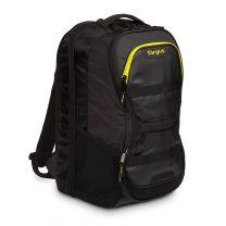 Targus Fitness Backpack Black, Yellow Polyurethane