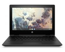 "HP ChromeBook x360 11 G4 11.6"" With Pen, With Cam Touchscreen Laptop, Cel-N4500, 8GB RAM, 64GB eMMC, ChromeOS - Jet Black"