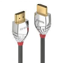 Lindy HDMI Cable 5m Type A (Standard) Grey Silver