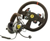 Thrustmaster Alcantara Ferrari 599XX Evo Edition Race Kit (Racing Wheel+Gaming Headset)